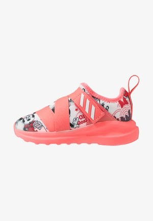 FORTARUN X MINNIE  - Laufschuh Neutral - footwear white/semi fluo red/coreblack