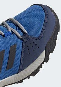 adidas Performance - TERREX HYPERHIKER LOW HIKING SHOES - Outdoorschoenen - blue/black/green - 8