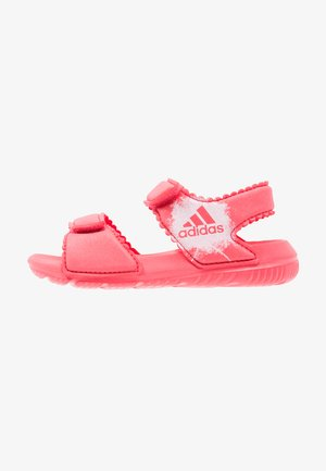 ALTASWIM - Pool slides - core pink/white