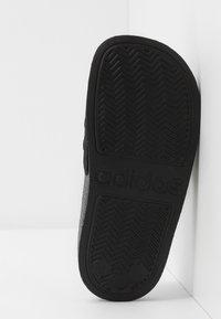 adidas Performance - ADILETTE SHOWER - Sandały kąpielowe - core black/footwear white - 4
