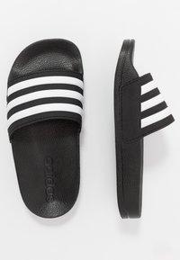adidas Performance - ADILETTE SHOWER - Sandały kąpielowe - core black/footwear white - 1