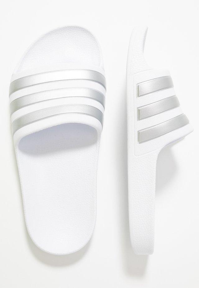 ADILETTE AQUA - Pool slides - footwear white