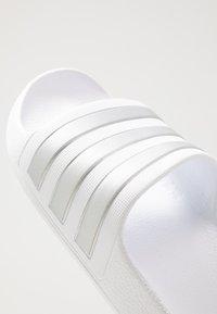 adidas Performance - ADILETTE AQUA - Sandali da bagno - footwear white - 2