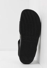 adidas Performance - ADILETTE - Chanclas de baño - core black/footwear white - 5