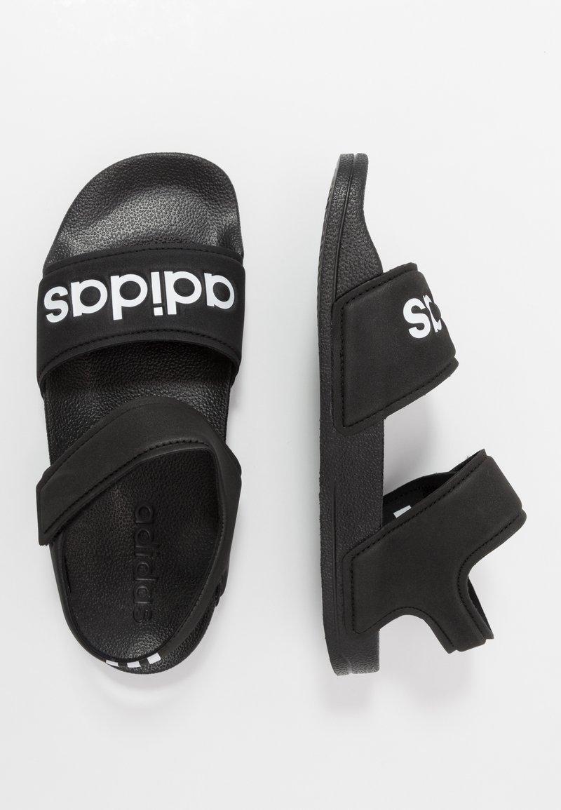 adidas Performance - ADILETTE - Chanclas de baño - core black/footwear white