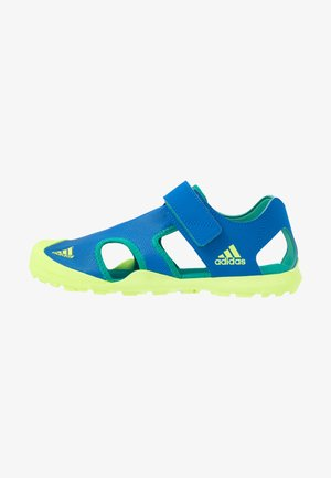 CAPTAIN TOEY - Walking sandals - glow blue/signal green