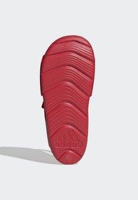 adidas Performance - ALTASWIM - Sandales de randonnée - red - 4