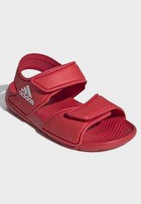 adidas Performance - ALTASWIM - Sandales de randonnée - red - 2