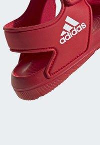 adidas Performance - ALTASWIM - Sandales de randonnée - red - 7