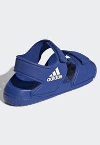 adidas Performance - ALTASWIM - Walking sandals - blue - 2