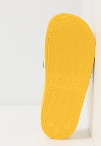 adidas Performance - ADILETTE SHOWER - Badslippers - equipment yellow/core black/footwear white - 5