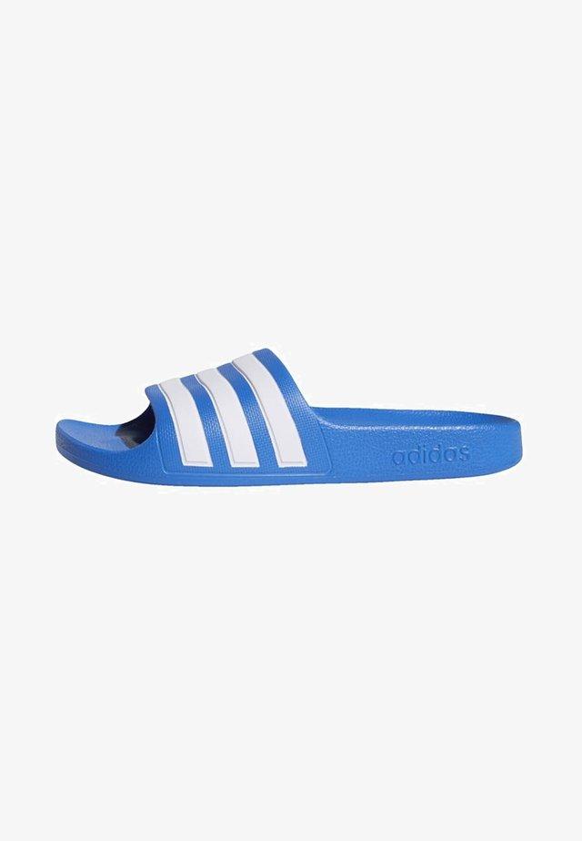 ADILETTE AQUA SLIDES - Rantasandaalit - blue