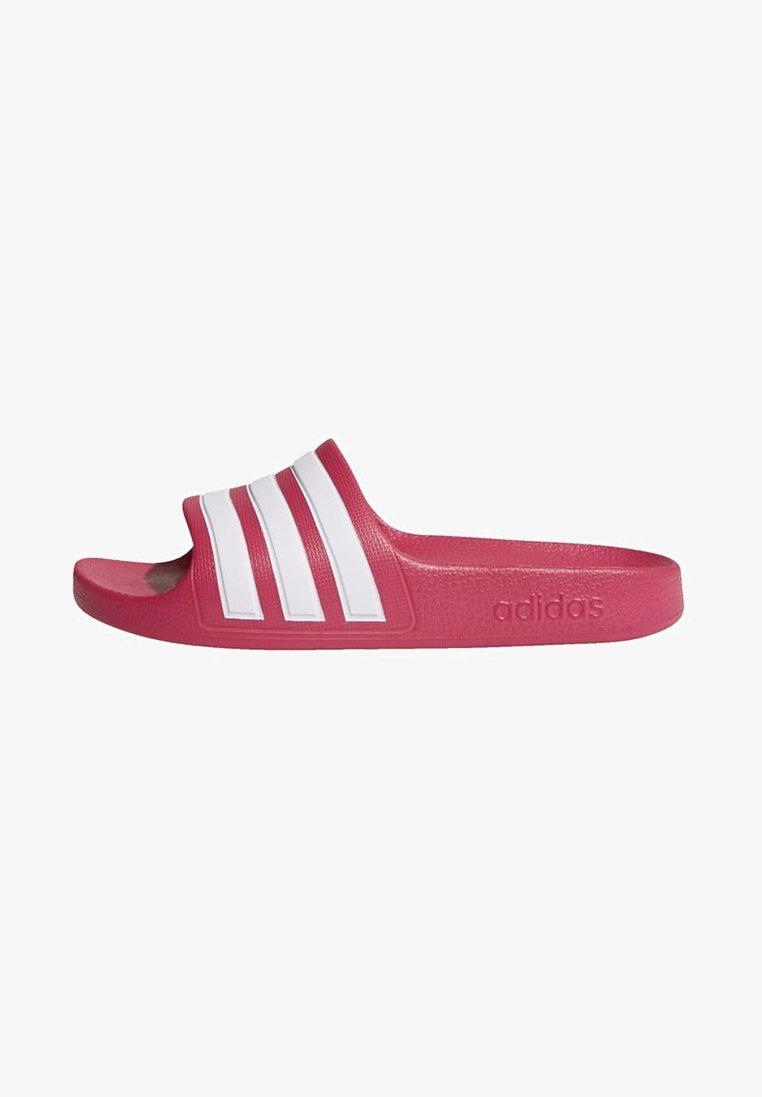 adidas Performance - ADILETTE AQUA SLIDES - Sandali da bagno - burgundy
