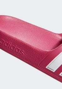 adidas Performance - ADILETTE AQUA SLIDES - Sandali da bagno - burgundy - 8