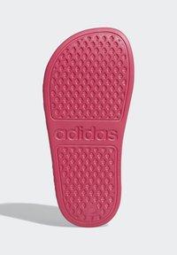 adidas Performance - ADILETTE AQUA SLIDES - Sandali da bagno - burgundy - 5