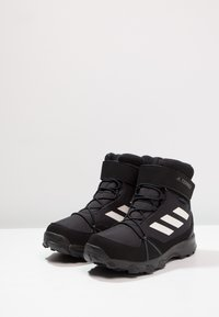 adidas Performance - TERREX SNOW CF WINTER HIKING SHOES - Zimní obuv - core black/chalk white/grey four - 2