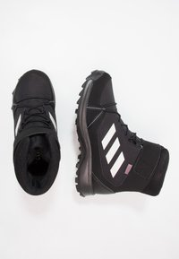 adidas Performance - TERREX SNOW CF WINTER HIKING SHOES - Zimní obuv - core black/chalk white/grey four - 1