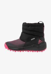 adidas Performance - RAPIDASNOW - Zimní obuv - core black/real pink/footwear white - 1