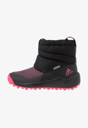 RAPIDASNOW - Snowboots  - core black/real pink/footwear white