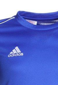 adidas Performance - CORE - Teamwear - boblue/white - 2