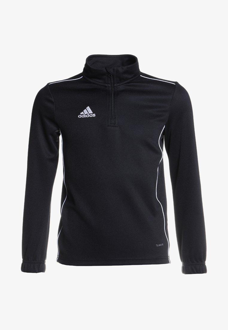adidas Performance - CORE 18 TRAINING TOP - Funktionströja - black/white
