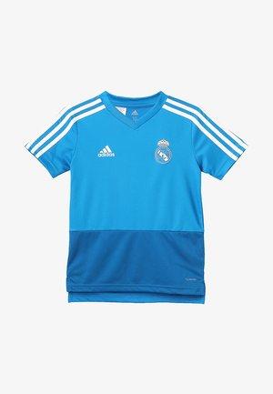 REAL MADRID TRAINING - Klubbklær - blue/dark royal/white