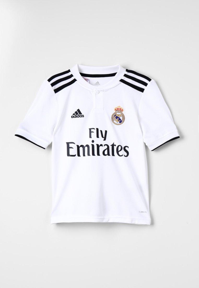 adidas Performance - REAL MADRID HOME - Vereinsmannschaften - core white/black