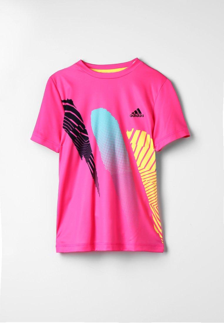 adidas Performance - SEASONAL TEE - T-shirts print - shock pink