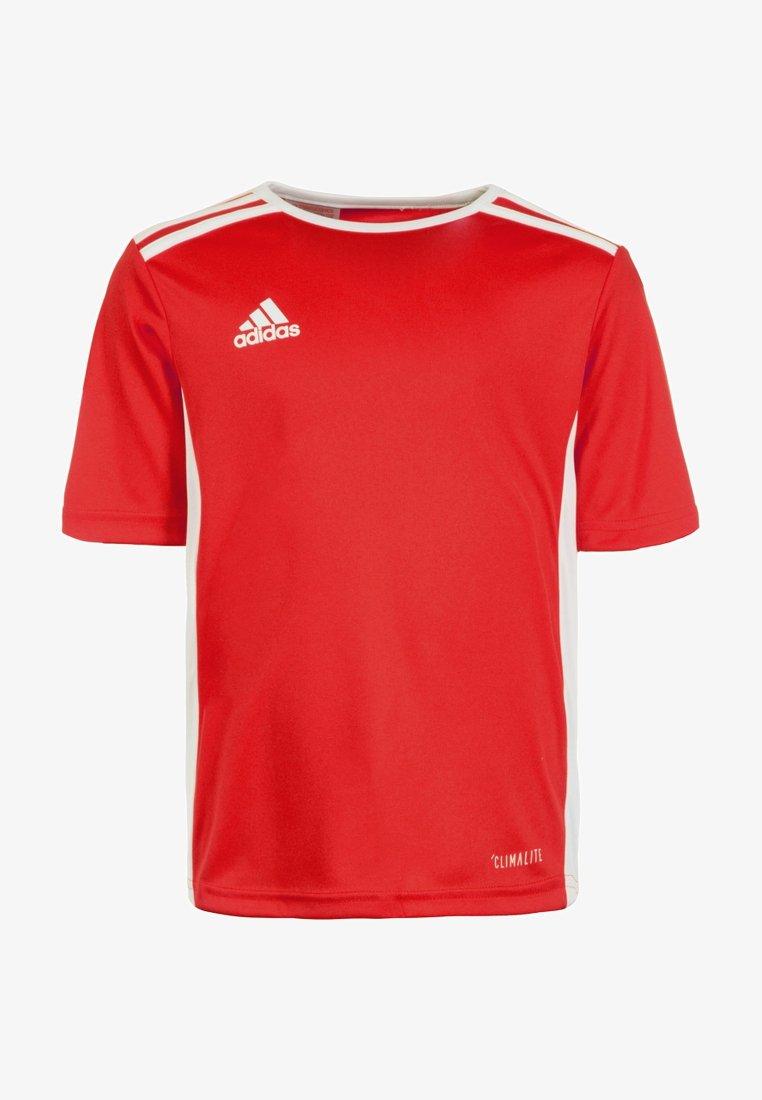 adidas Performance - ENTRADA - T-Shirt basic - rot