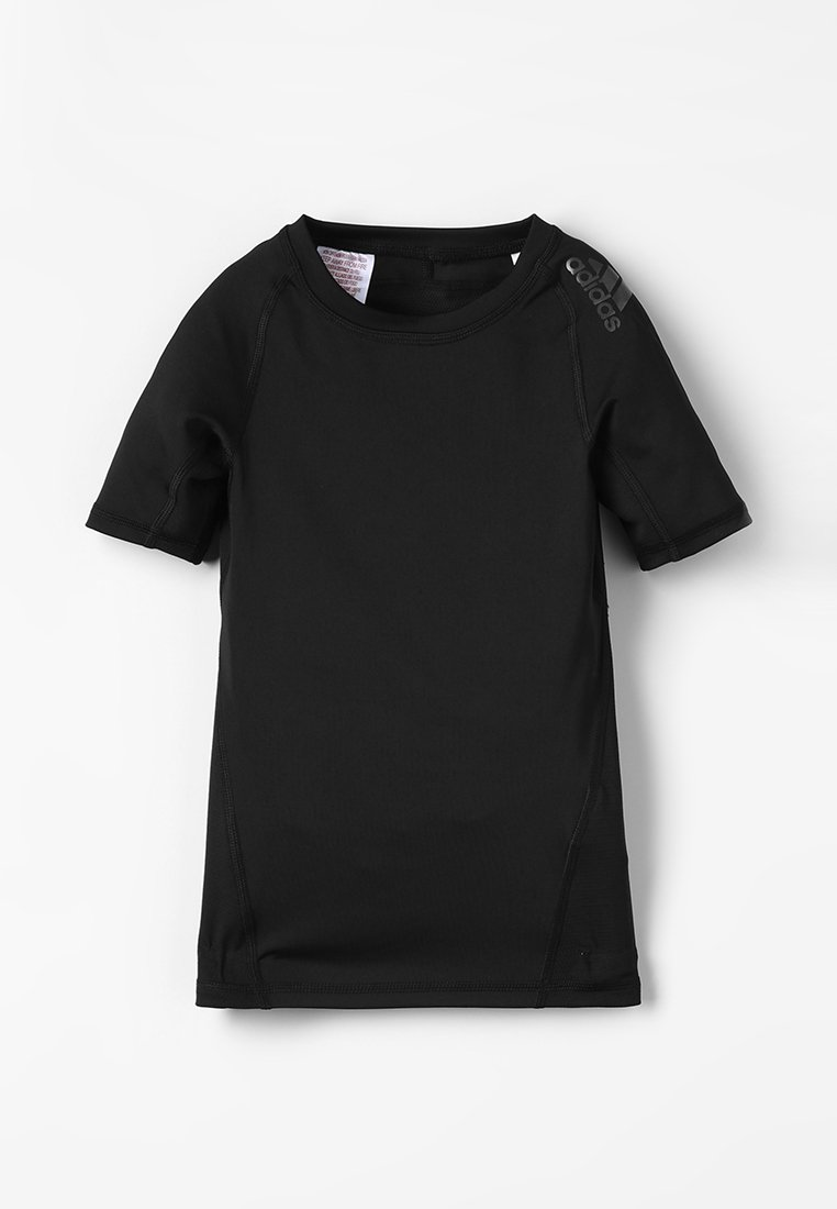 adidas Performance - ALPHASKIN TEE - T-shirt print - black