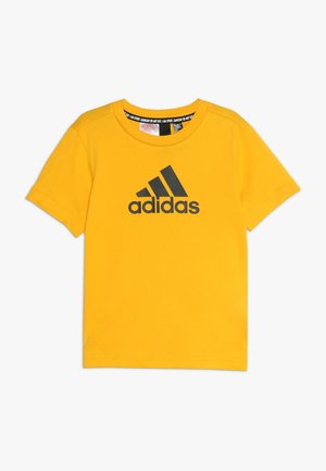 BOS  - Camiseta estampada - active gold/black