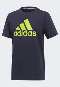 adidas Performance - ESSENTIALS SPORTS SHORT SLEEVE TEE - T-shirt print - legink/sesosl - 2