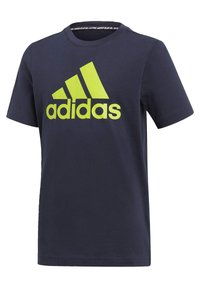 adidas Performance - ESSENTIALS SPORTS SHORT SLEEVE TEE - T-shirt print - legink/sesosl - 4