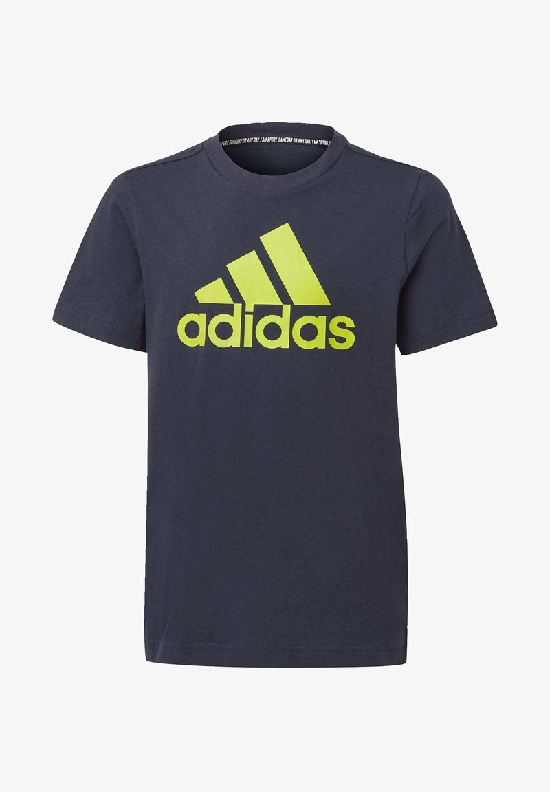 adidas Performance - ESSENTIALS SPORTS SHORT SLEEVE TEE - T-shirt print - legink/sesosl
