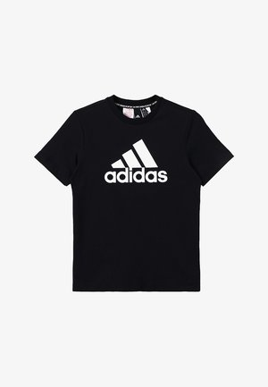 ESSENTIALS SPORT INSPIRED SHORT SLEEVE TEE - T-shirt med print - black/white
