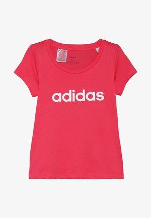 LIN TEE - T-shirt print - pink/white