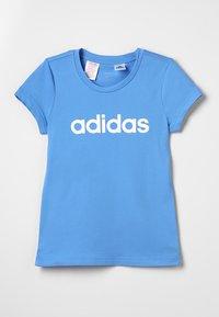 adidas Performance - T-shirt imprimé - lucblu/white - 0