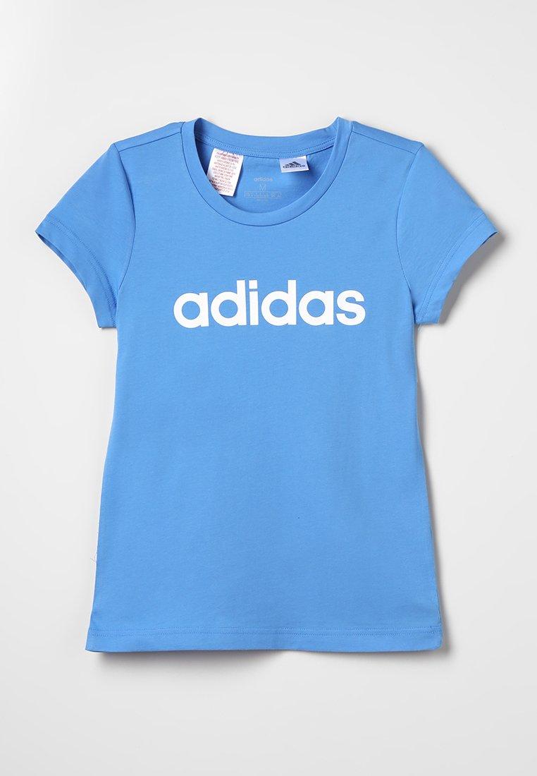 adidas Performance - T-shirt imprimé - lucblu/white