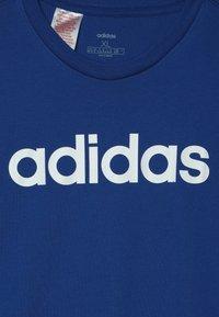 adidas Performance - LIN TEE - T-shirt con stampa - croyal/white - 3