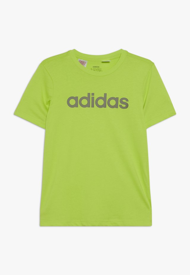 LIN TEE - T-shirt print - neon green/olive
