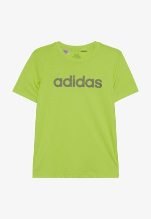LIN TEE - T-shirt con stampa - neon green/olive