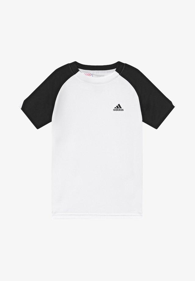 CLUB - Camiseta estampada - white/black/black