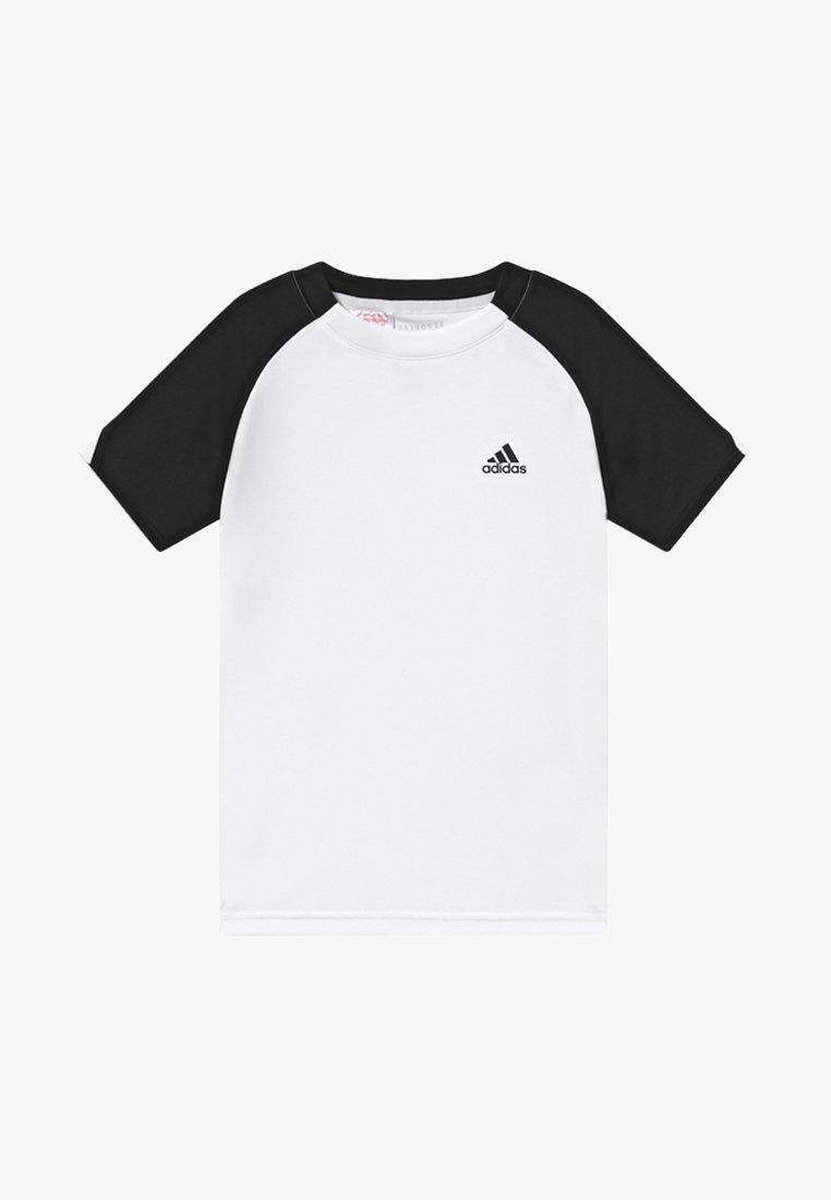 adidas Performance - CLUB - Printtipaita - white/black/black