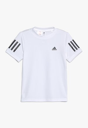 CLUB TEE - T-shirt med print - white/black