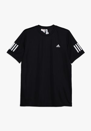 CLUB TEE - T-shirt print - black/white