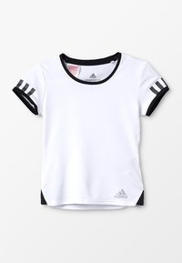 adidas Performance - CLUB - T-shirt imprimé - white - 0
