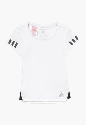 CLUB TEE - Printtipaita - white/black