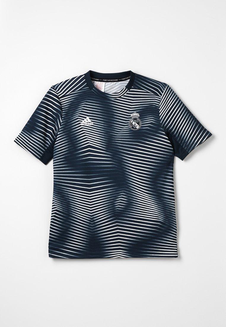 adidas Performance - REAL PRESHI  - T-Shirt print - teconi/cwhite