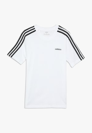 3S TEE - Print T-shirt - white/black