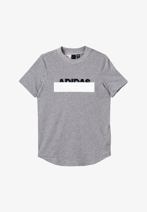 TEE - T-shirt con stampa - mottled grey/black